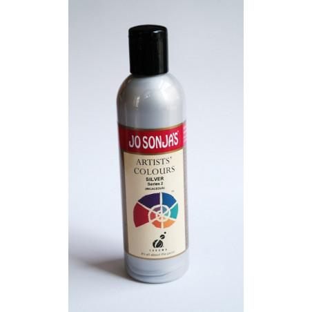 Farba akrylowa Jo Sonja's - silver