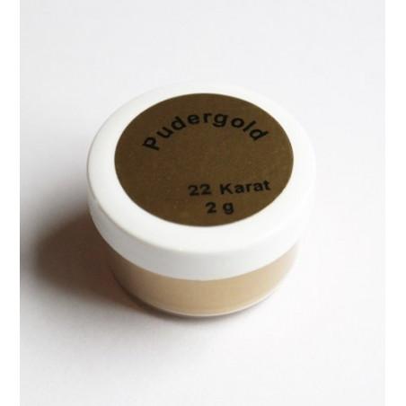22 karat puder 2 g