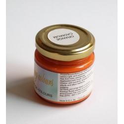 Pigmenty greckie - w paście - pomarańcz kadmowy