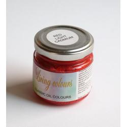 Pigmenty greckie - w paście - czerwień kadmowa jasna imitacja
