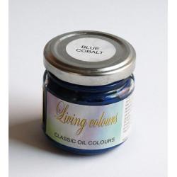 Pigmenty greckie - w paście - niebieski kobalt