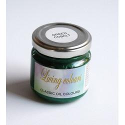 Pigmenty greckie - w paście - zieleń kobaltowa