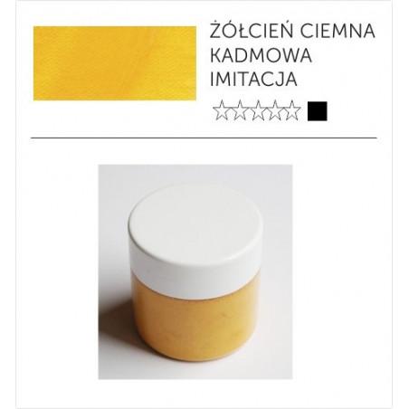 Pigment suchy -  żółcień kadmowa ciemna imitacja