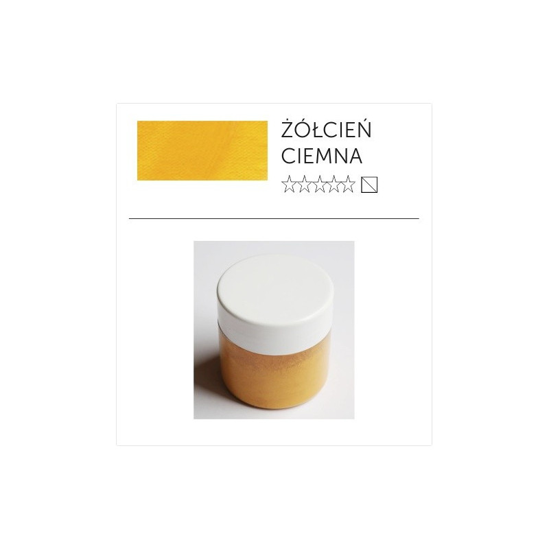 Pigment suchy - żółcień ciemna