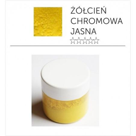 Pigment suchy - żółcień chromowa jasna