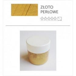 Pigment suchy - złoto perłowe