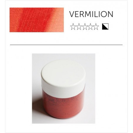 Pigment suchy - vermilion