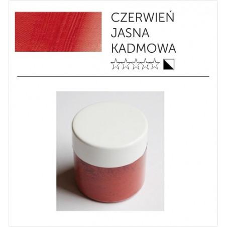 Pigmenty greckie - suche - czerwień kadmowa jasna imitacja