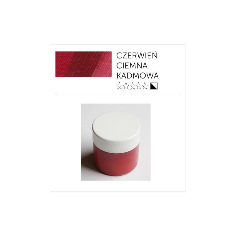 Pigment suchy - czerwień kadmowa ciemna imitacja