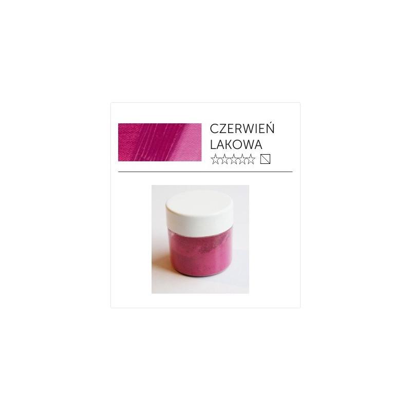 Pigment suchy - czerwień lakowa