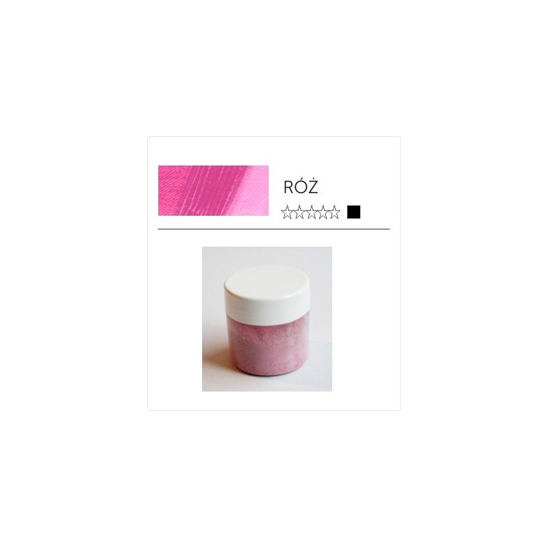Pigment suchy - róż