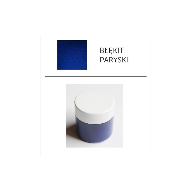 Pigment suchy - błękit paryski