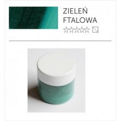 Pigment suchy - zieleń ftalowa