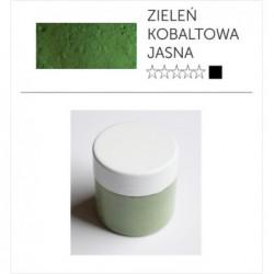 Pigment suchy - zieleń kobaltowa jasna