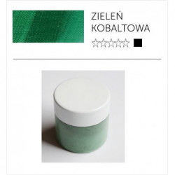 Pigment suchy - zieleń kobaltowa