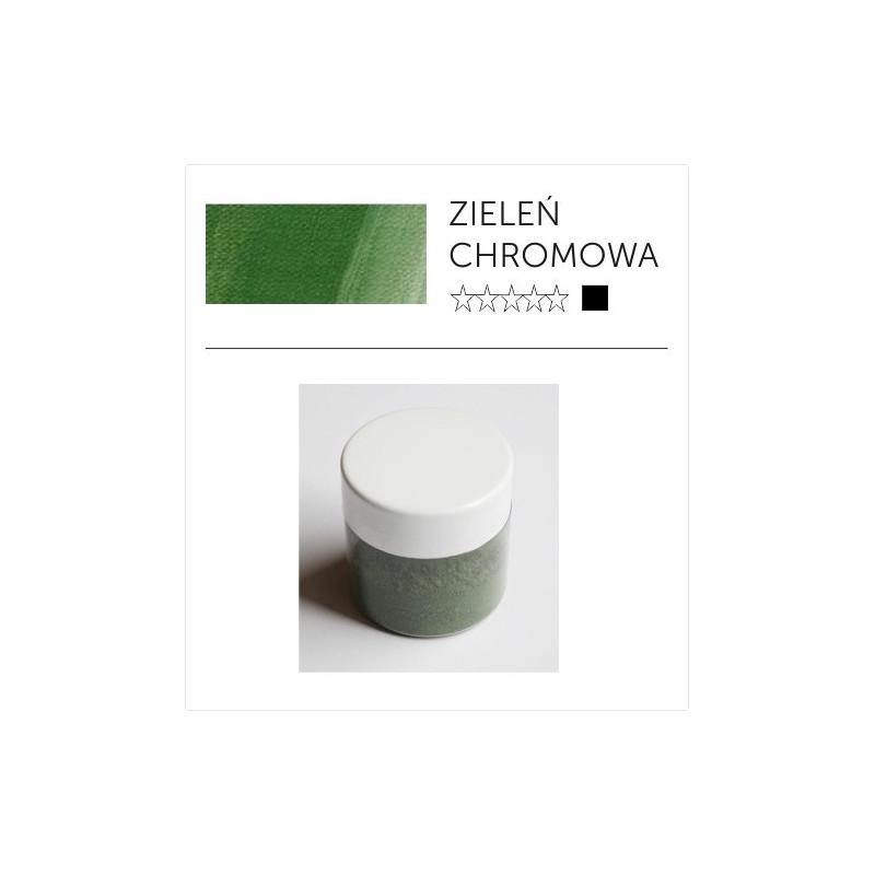 Pigment suchy - zieleń chromowa