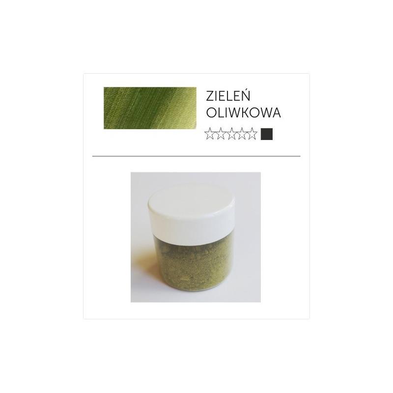 Pigment suchy - zieleń oliwkowa