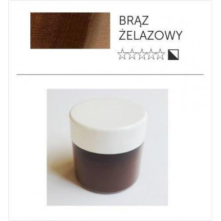 Pigment suchy - brąz żelazowy