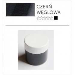 Pigment suchy - czerń węglowa