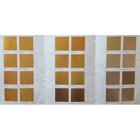 Karta kolorów złota