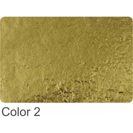 Szlagmetal 16x16 nr 2 złoto ciemne