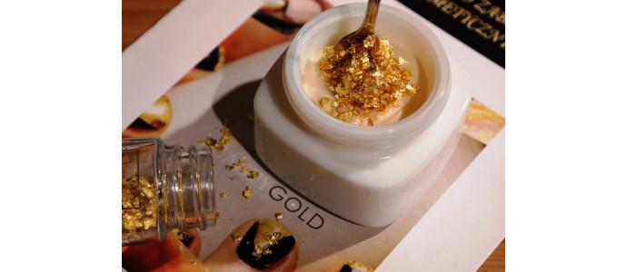 Złoto i srebro kosmetyczne - właściwości